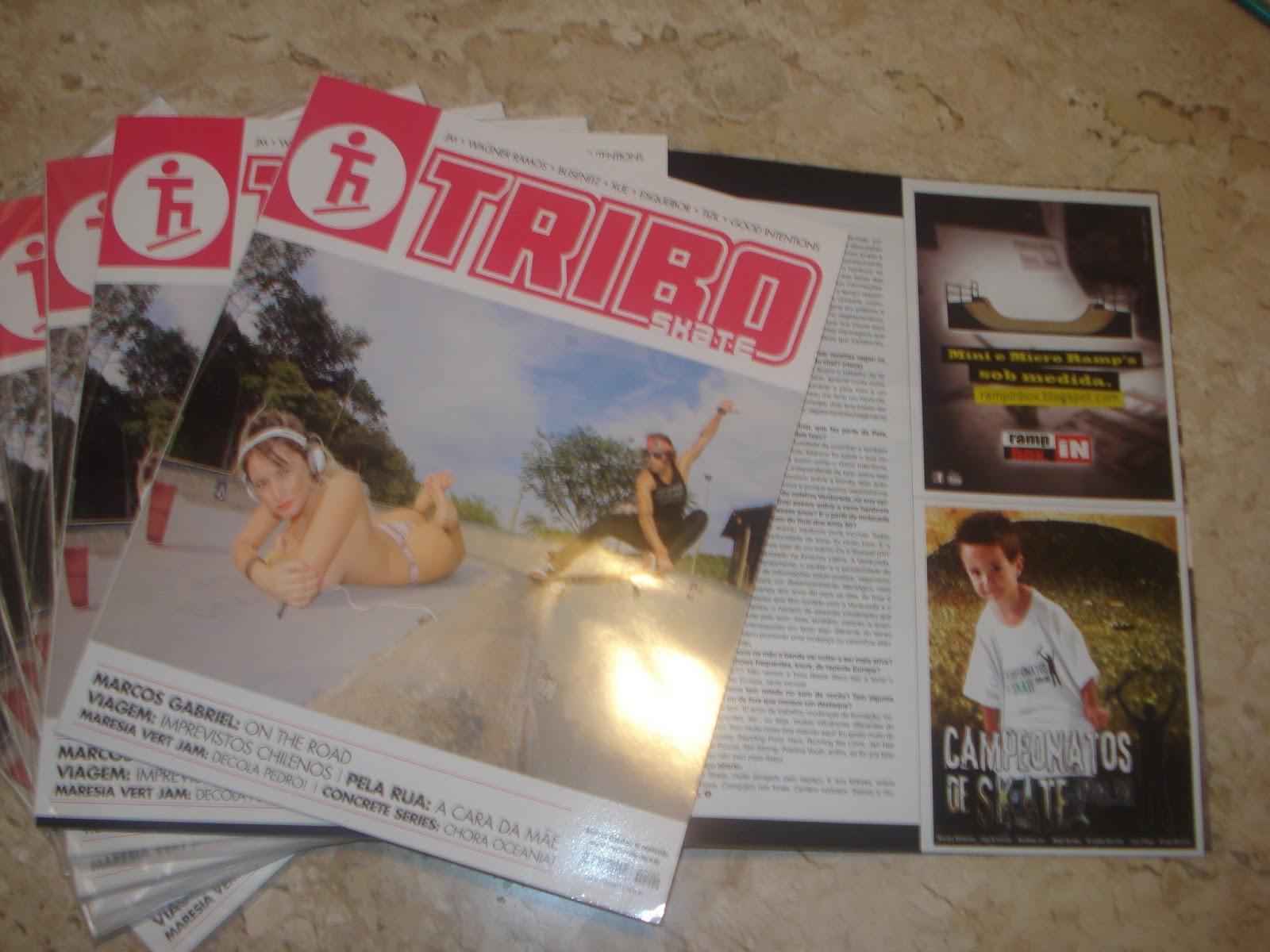 Campanha R.I.B. Mar. 2013 - Revista Tribo Skate - Edição 209
