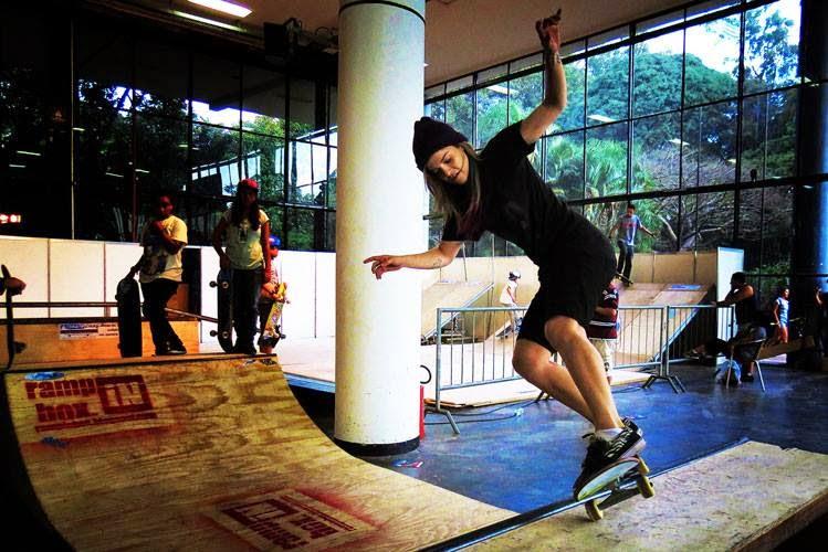 Ramp in Box na Adventure Sports Fair Skate no Ibirapuera SP 1