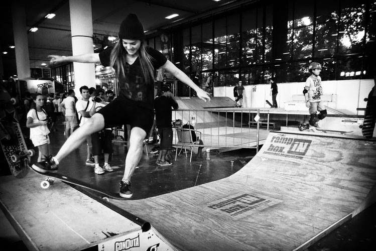 Ramp in Box na Adventure Sports Fair Skate no Ibirapuera SP 2