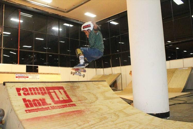 Ramp in Box na Adventure Sports Fair Skate no Ibirapuera SP 3