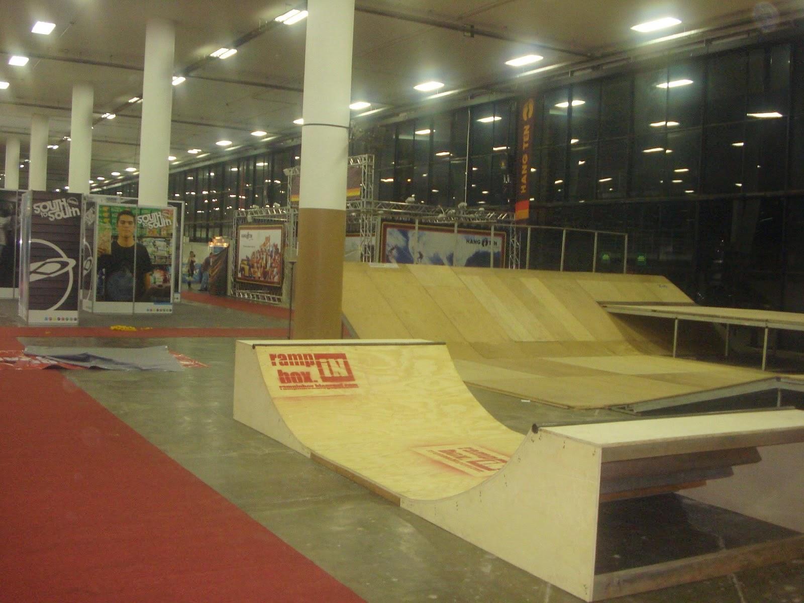 Ramp in Box na Adventure Sports Fair Skate no Ibirapuera SP 8